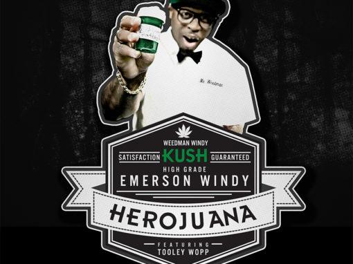 Emerson Windy – Herojuana Single Cover