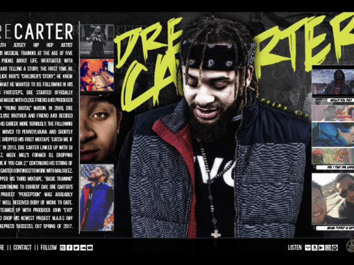 Dre Carter Press Kit